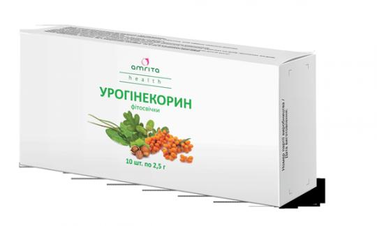 Урогинекорин фитосвечи, 10 супп. по 1,5 г